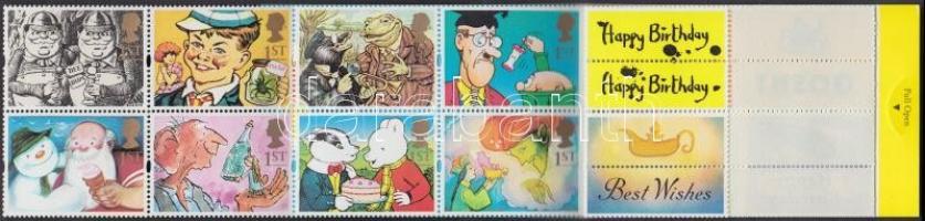 1993 Üdvözlő bélyeg bélyegfüzet MH 101
