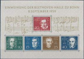 1959 Beethoven-terem blokk Mi 2