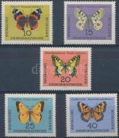 1964 Lepkék sor Mi 1004-1008