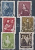 1957 Festmények sor Mi 586-591