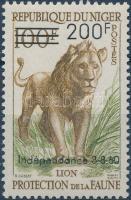 1960 Függetlenség felülnyomott bélyeg Mi 16