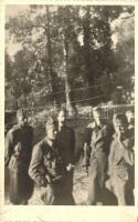 Hungarian soldiers group, Libal Optika-foto photo, Magyar katonák, Libal Optika-fotó