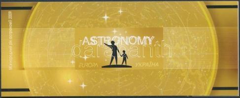 2009 Europa CEPT csillagászat bélyegfüzet MH 10 (Mi 1034-1035)