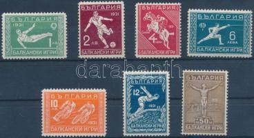 1931 Sport sor Mi 242-248
