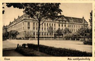 Kosice, Railway office, Kassa, MÁV osztálymérnökség