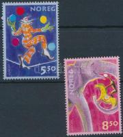 2002 Europa CEPT Cirkusz pár Mi 1446-1447