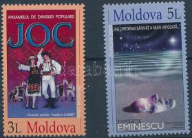 2003 Európa CEPT: Plakátművészet sor Mi 463-464