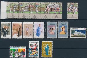 1977 Teljes évfolyam ötös csíkkal, 1 bélyeg kivételével