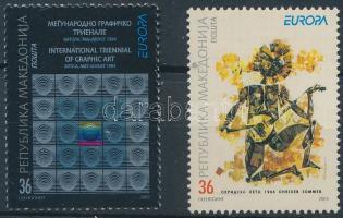 2003 Europa CEPT: Plakátművészet sor Mi 279-280