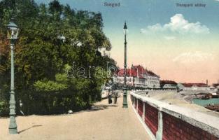 Szeged, Tisza-parti sétány