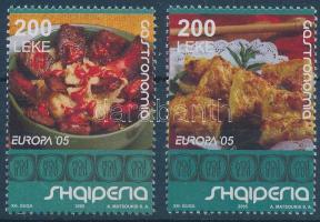 Europa CEPT: Gastronomy set, Europa CEPT: Gasztronómia sor