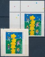 2000 Europa CEPT ívsarki fogazott + öntapadós bélyeg Mi 2113-2114