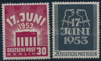 1953 Kelet Berlini felkelés sor Mi 110-111
