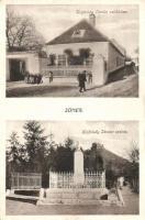 Sümeg, Kisfaludy Sándor szülőháza és szobra (Rb)