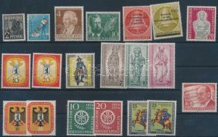 1948-1956 20 db (19 klf) bélyeg
