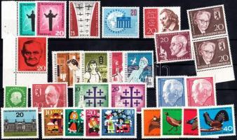 1958-1965 28 stamps (27 diff), 1958-1965 28 db (27 klf) bélyeg