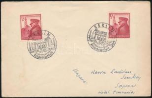 1939 2 x Mi 691 levélen Hitler 50. születésnapja alkalmi bélyegzéssel