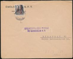1946 (15.díjszabás) Távolsági levél Betűs (III) Távolsági levél/18f bérmentesítéssel