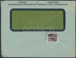 1946 (14.díjszabás) Távolsági levél Betűs (III) Távolsági levél/18f bérmentesítéssel