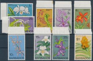 1974 Virág 9 klf érték