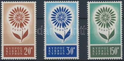 1964 Europa CEPT sor Mi 240-242