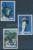 1986 New York-i szabadságszobor sor Mi 1114-1116