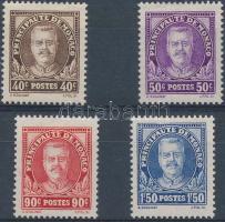1933 II. Lajos herceg sor Mi 116-119