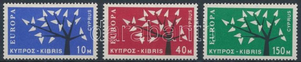 1963 Europa CEPT sor Mi 215-217