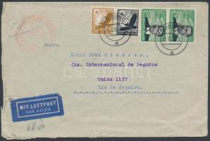 1939 Légi levél Brazíliába