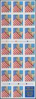 1995 Zászló fólia lap Mi F-Blatt 22b (2552)