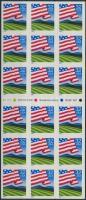 1995 Zászló fólialap/ATM Mi F-Blatt 21 (2548)