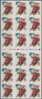 1995 Karácsony fólialap/ATM Mi F-Blatt 28 (2676)