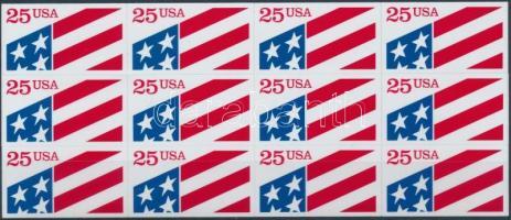 Flag foil sheet / ATM, Zászló fólialap/ATM
