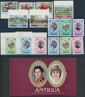 15 db bélyeg + 1 bélyegfüzet, 15 stamps + 1 stamp-booklet