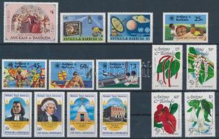 1982-1984 15 stamps, 1982-1984 15 db bélyeg