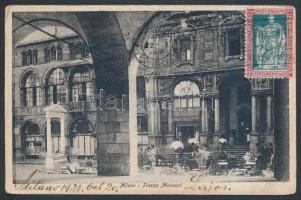 1928 TCV képeslap Budapestre