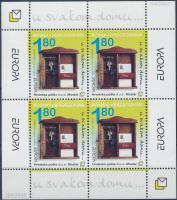 2003 Europa CEPT plakátművészet blokk Mi 2