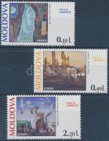 1995 Europa CEPT béke és szabadság sor Mi 164-166