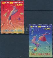 2002 Europa CEPT cirkusz sor Mi 2018-2019