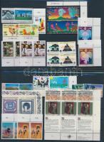 1989-1994 11 klf sor + 4 klf sor párban + 1 ívsarki négyestömb + 6 klf önálló érték 3 db stecklapon