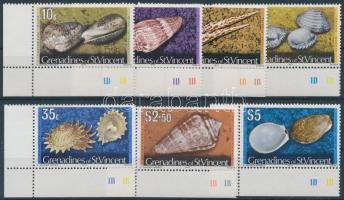 Marine animals margin set, Tengeri állatok ívsarki sor