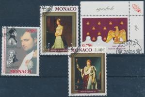 2004 I. Napóleon sor (közte ívsarki bélyeg) Mi 2696-2699