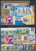 33 stamps with sets, margin values and pairs + 2 blocks, 33 db bélyeg, közte teljes sorok, ívszéli értékek és párok + 2 db blokk
