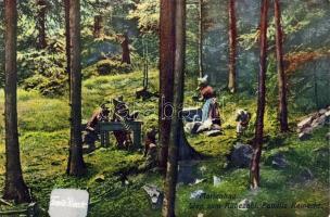 Marianske Lazne, Marienbad; Weg zum Rübezahl, Familie Reinecke