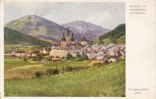 Mariazell, Gemeindealpe, Ötscher, B.K.W.I. Serie 226/16. s: K. Ludwig Prinz