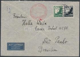 1937 Légi levél Brazíliába