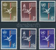 1964 Függetlenség sor Mi 292-297