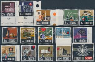 1973 Forgalmi sor Mi 457-471