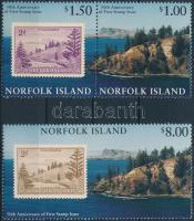 1997 50 éves a norfolk-i bélyeg sor párral Mi 635-636
