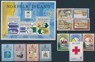 1988-1989 1 önálló érték, 3 klf sor, 1 blokk